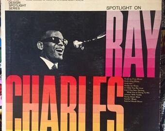 Spotlight on Ray Charles vinyl LP