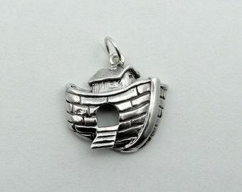 Vintage Sterling Silver Noah's Ark Charm #ARK-CM1