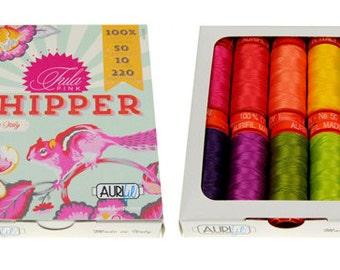 Tula Pink Chipper Aurifil Thread - 10 Small Spools