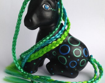 My Little Pony Custom G1 Dark Bubbles