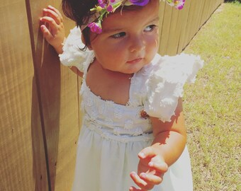 Bohemian Flower Crown, Flower Crown, Floral Crown, Floral Halo, Child Flower Crown,
