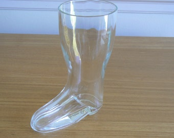 Das Beer Boot!  Lovely Drinking Vessel for the Shelf of Your Home Bar.