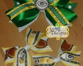 Green Bay Packers Bow Gift Set
