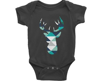Magnificent cache layer for baby with deer motif