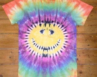 Smiley Tie Dye Tshirt