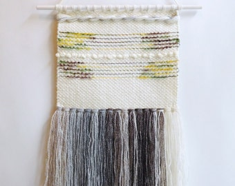 Autumn fall wall weaving tapestry wall hanging, woven wall weaving, handwoven wall hanging, hanging wall decor, weaving wall hanging