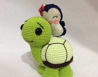 PATTERN - Turtle Crochet