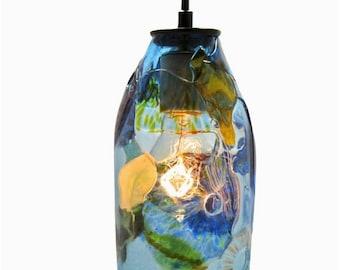 Glass Pendant Light - Riforma Shard Upcycled Glass