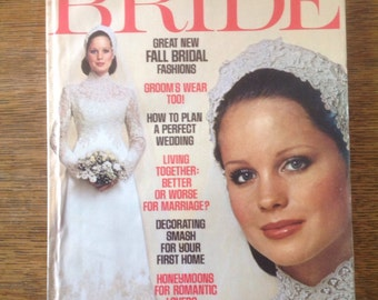 Modern Bride Magazine Aug/Sept 1975