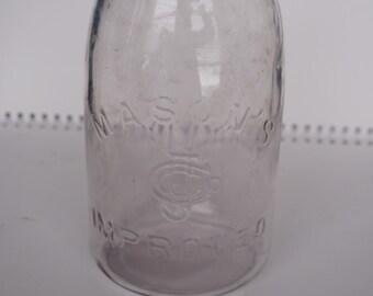 Mason's CFJCo Improved Canning Jar