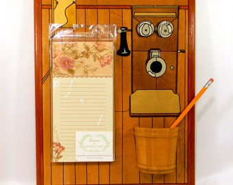 Memo Board - Hello Operator - Antique Phone
