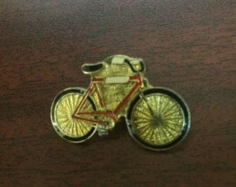 Vintage Bicycle enamel pin