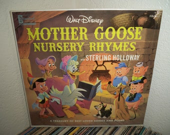 Walt Disney's - Mother Goose Nursery Rhymes LP