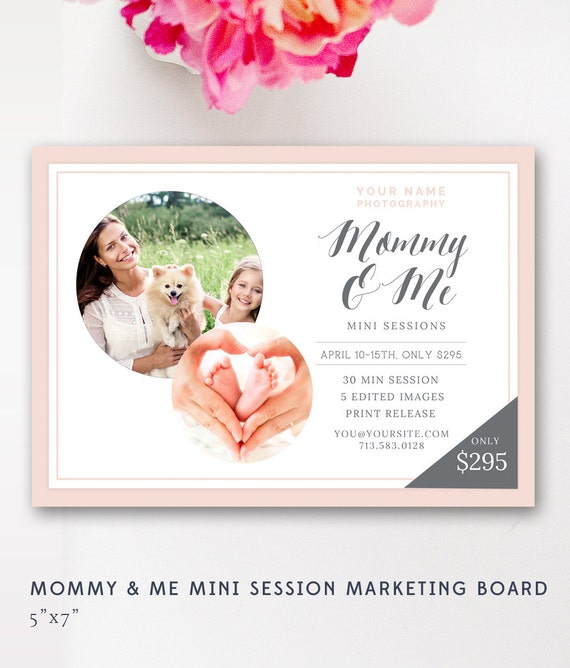 Mommy & Me Mini Session Mother's Day By ByStephanieDesign