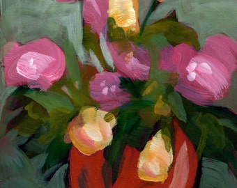 022 - Red Vase