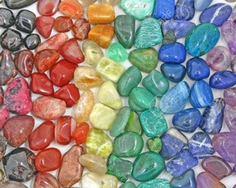 Tumbed Crystals for Magic, Healing and Energy Work