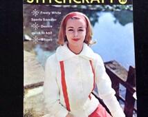 Jan1960 Stitchcraft magazine. Many knitting & sewing projects.