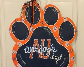 War eagle door hanger