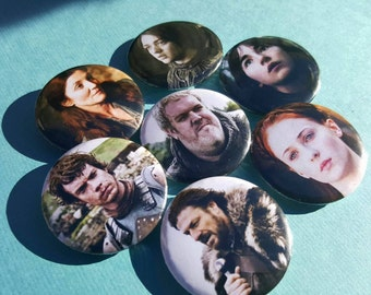 Game of Thrones Pinback Buttons