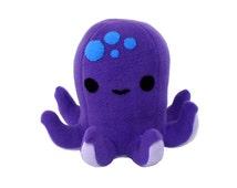 Octopus Plush Sewing Pattern- Stuffed Animal Patterns - Kawaii PDF Pattern
