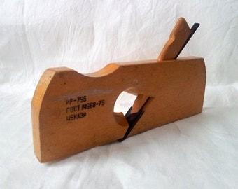 Vintage Wood Hand Plane/ Planer zenzubel/ ГОСТ 14668-79