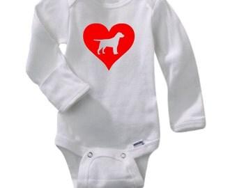 Lab baby onesie – Etsy