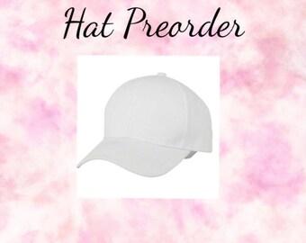 Custom Painted Hat Preorder