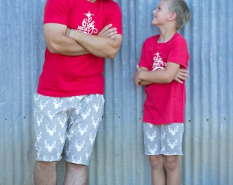 BOY: Family Christmas Outfits pajamas- BOY'S OPTIONS- Christmas Pjs- Holiday outfits- Christmas photshoot outfits
