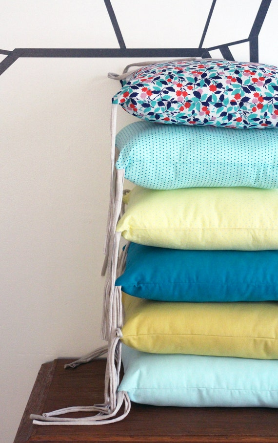 tour de lit coton liberty. Black Bedroom Furniture Sets. Home Design Ideas