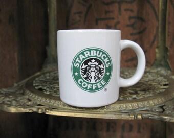Vintage Starbucks Mug, Starbucks Mug,  Starbucks Mini Mug, Vintage Mug, Coffee Mug, Miniature Mug, Tiny Mug, Gift Mug, Coffee Lover, Gift