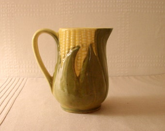 Shawnee Corn Cream Pitcher
