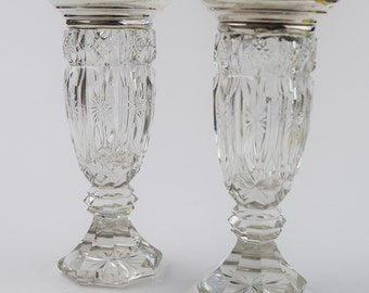 Silver Vases Stunning Silver Vase  Etsy Design Inspiration