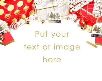 Styled Stock Photography / Christmas Stock / Christmas Background / Christmas MockUp / Christmas Styled / Christmas Desktop / StockStyle-600