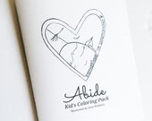 Abide Kids' Coloring Book