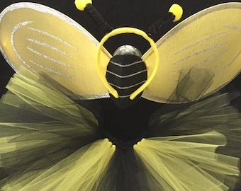 Bee Honeybee Bumblebee Tutu Costume Halloween Costume