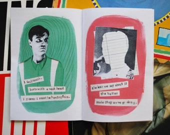 Talking Heads - This Must Be the Place (Naive Melody) Lyrical Zine - Gifts For Music Lovers, New Wave, Post-Punk, David Byrne