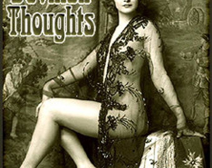 Devilish Thoughts - Original Handcrafted Perfume for Women - Love Potion Magickal Perfumerie