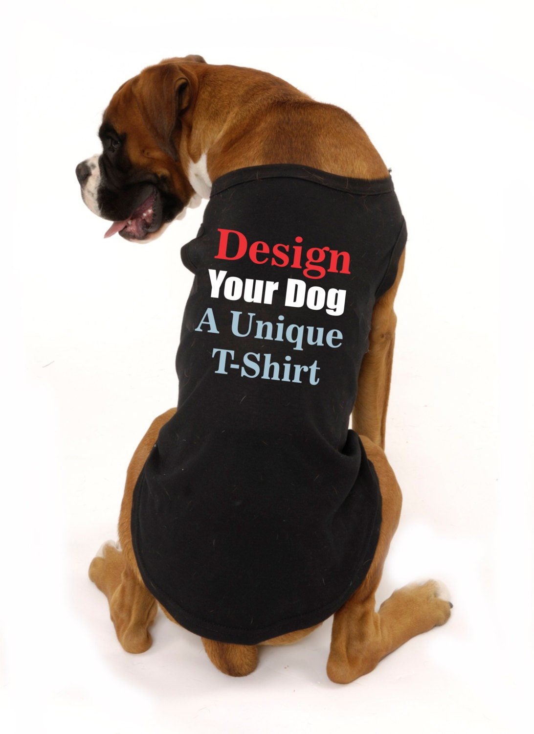 Custom dog clothes doggie tee pet shirts christmas gift ideas for Custom pet t shirts
