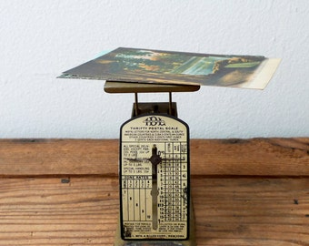 Vintage Thrifty Postal Scale