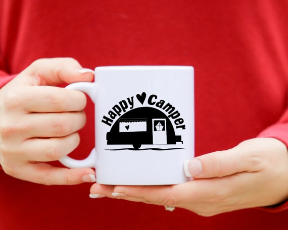 HAPPY CAMPER | Message Mugs | 11 oz.