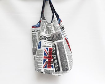 GIFT FOR HOLIDAY Double faced Hobo Bag /Double Faced Bag /Pop Denim Bag / Jeans blue Bag / Boho jeans Bag / Gipsy Denim Bag / Blue Denim Bag