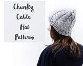 Chunky Cable Hat Pattern