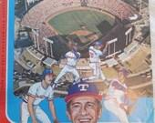 1974 Texas Rangers Baseball Program, Texas Rangers vs. Detroit Tigers (A18)