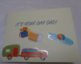 Greeting card for Father's Day