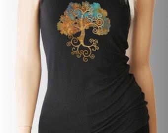 Tree of Life. Yoga. Yoga Tank. Yoga Shirt. Yoga Clothes. Yoga Clothing. Yoga Top. Yoga Tank Top. Yoga T Shirt. Yoga TShirt. Namaste Shirt.