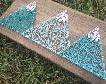 Made to Order: Mountains String Art