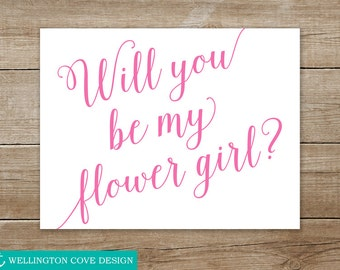 Sly image inside will you be my flower girl free printable