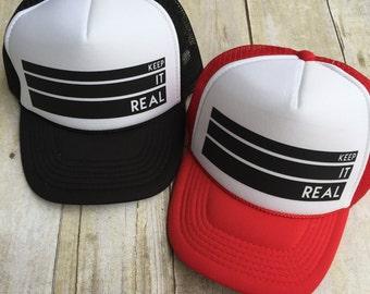 Kids Keep it Real Trucker Hat