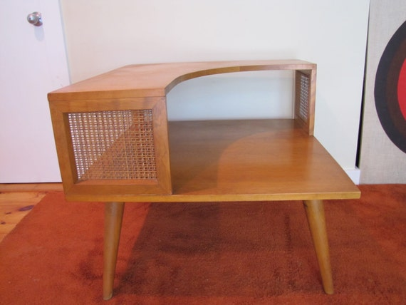 Vintage Conant Ball Corner Table End Table Side Table Mid
