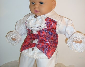 "Baby Boy Outfit Set ""Fabrizio""-Christening,Baptism,Events"